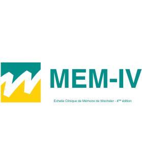 MEM-IV - Échelle clinique de mémoire de Wechsler - 4ème édition
